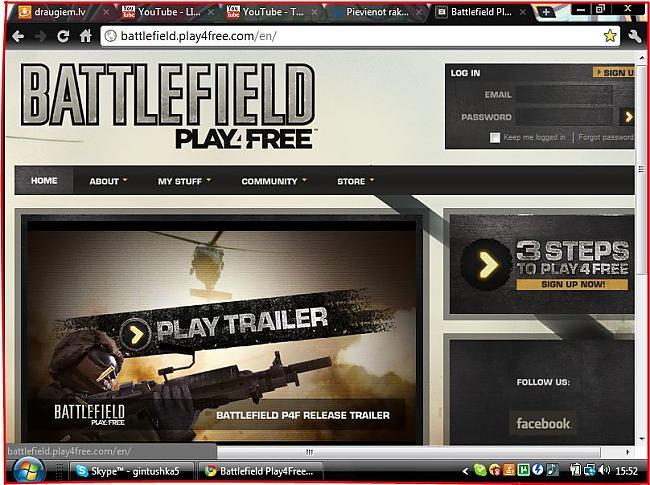 Šādi izskatās kad ieej šajā... Autors: Fosilija Battlefield PLAY4FREE