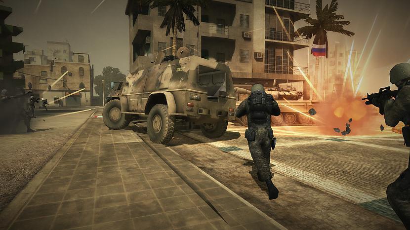 Pāris bildes ar spēles skatiem Autors: Fosilija Battlefield PLAY4FREE