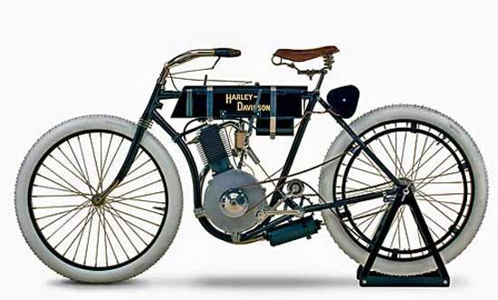 Pirmais Harley Davidson... Autors: MJ Fakti par TEVI!!!