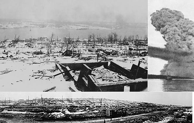 Halifaksa Kanāda 1917 gada 6... Autors: YogSothoth Ellišķīgākie sprādzieni