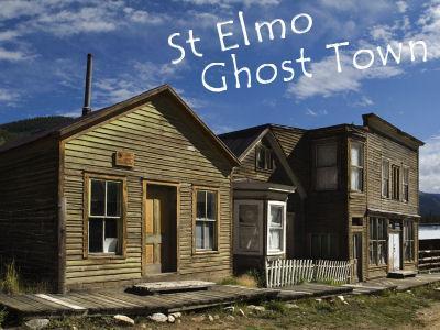 StElmo atrodas Kolorādo štatā... Autors: Strendžers Spoku pilsēta - St.Elmo