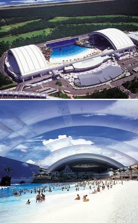 Pasaules lielākais iekštelpu... Autors: MJ 10 fascinējošākie pasaules peldbaseini!!