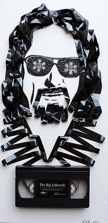 Lielais Lebovskis Autors: Rockforgoodtimes Apbrīnojamā kasešu māksla