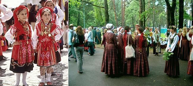 Portugāles tautas tērps ... Autors: Skoolnieks Portugāle VS Latvija