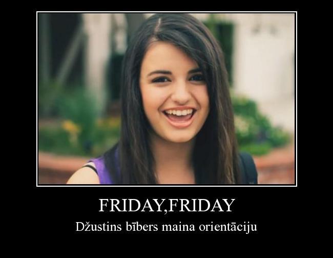 Autors: Supergliemezis Friday,friday
