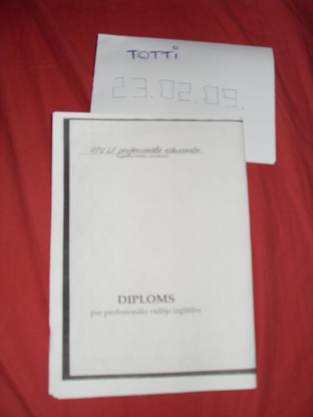 Autors: T0TTI Diploms