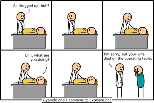Autors: The Reader Cyanide and Happiness