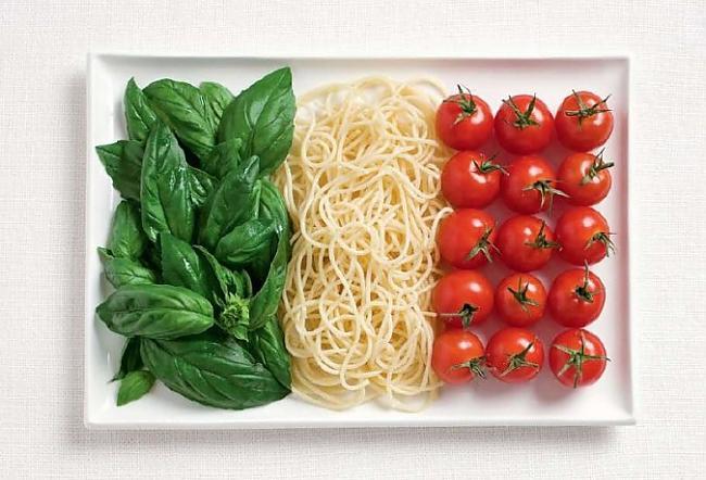 Itālija Autors: CoffeeQueen Valsts karogs no ēdiena