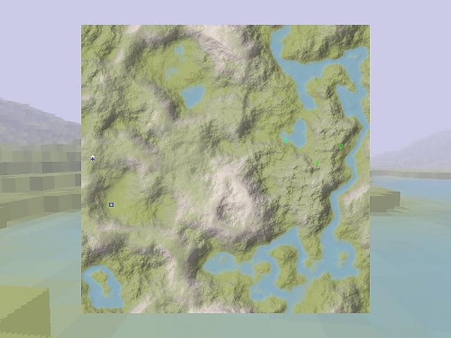 Šādi izskatās karte no augšas... Autors: WinDel Ace of Spades