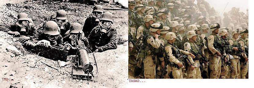 Karā Autors: pofig Armija - Tad un tagad.