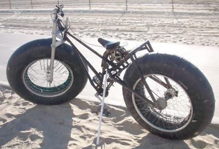 Pludmales velosipēds Autors: LVmonstrs Unikāli un kreatīvi velosipēdi