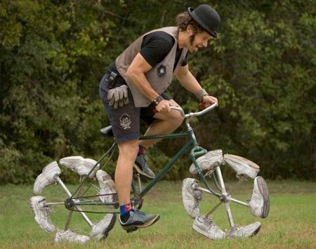 Kurpjritenis Autors: LVmonstrs Unikāli un kreatīvi velosipēdi