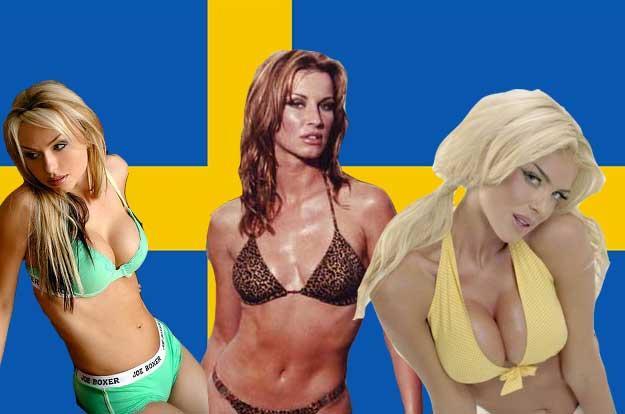 4Zviedrija Zviedru meitenes ir... Autors: burnenergy Pasaules skaistākās valstis:vērtējot sievietes.