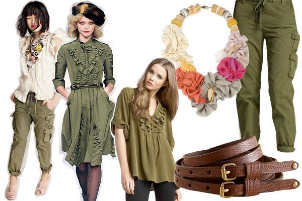 Sievišķīgais ar  uzsvaru uz... Autors: millers Military fashion