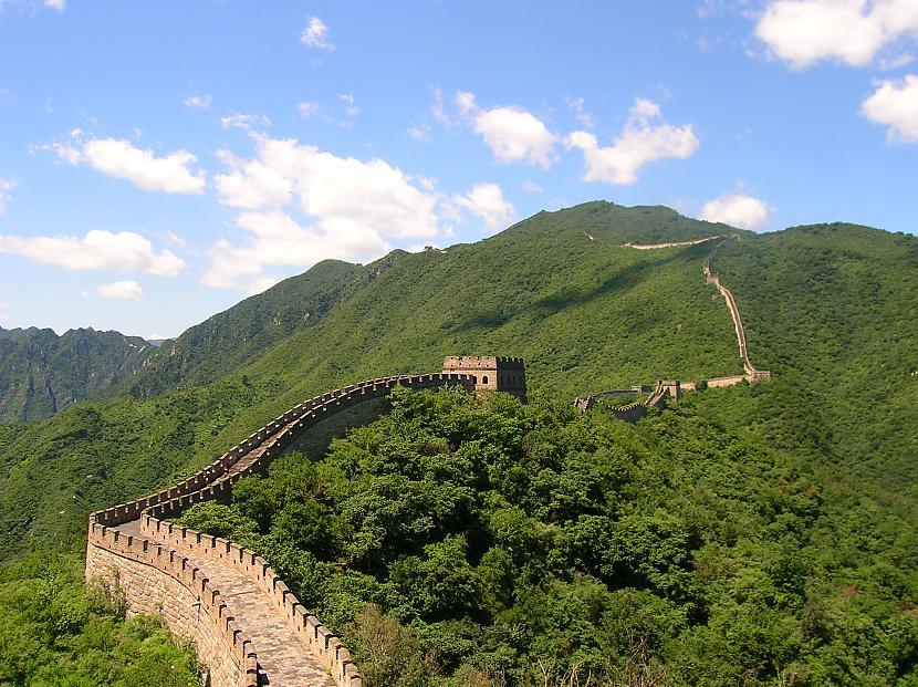 Ķīnas lielais mūris Ķīna Autors: Richards9 Pasaules skaistākās vietas