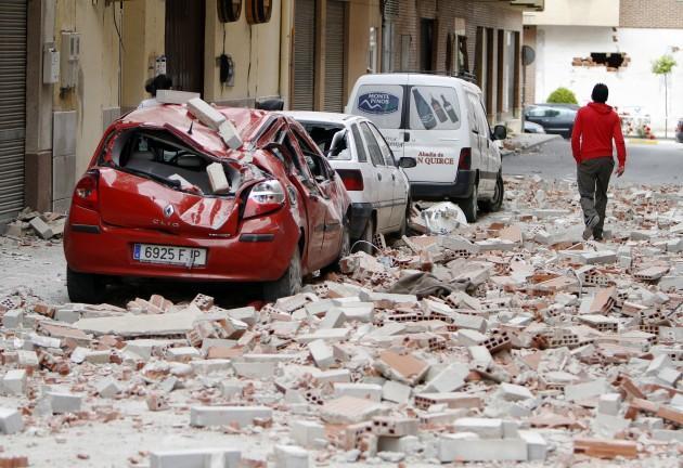 Spāniju satricinājušas divas... Autors: zjozefiine Dabas katastrofas gada laikā!