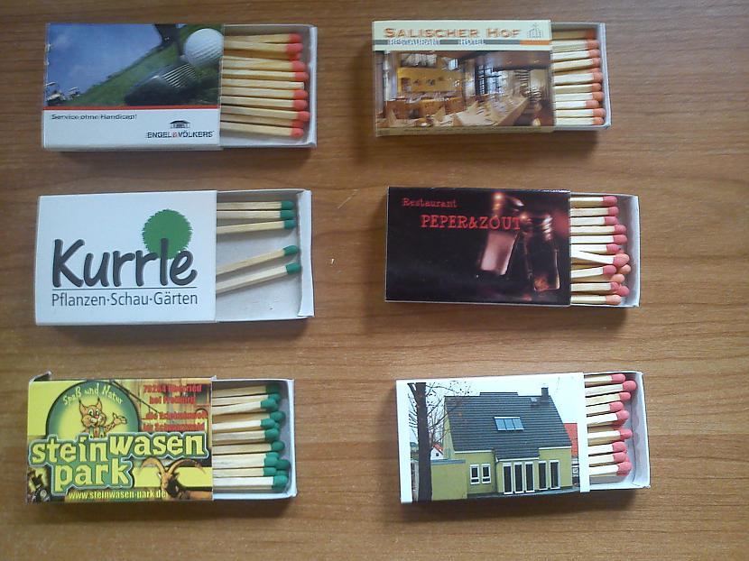 Autors: Boroo mana kolekcija 2# (sērkociņu kastītes)