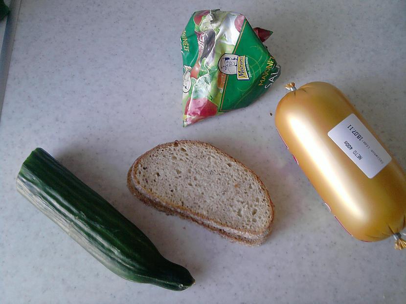 Tātad vajadzīgs desa maize... Autors: Fosilija Slinķu launags
