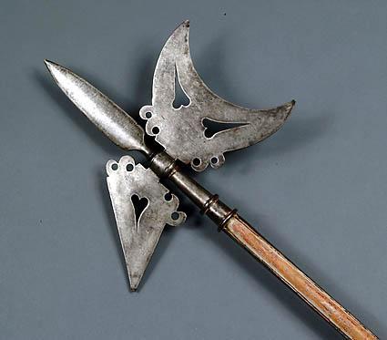HalebardeDivi vienā ierocis... Autors: We3Dboy Dīvainākie ieroči / uzbrukumi