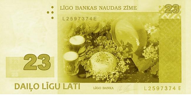 Lūk pirmā 23ls līgo banknote... Autors: Espumisan Jauna banknote ?