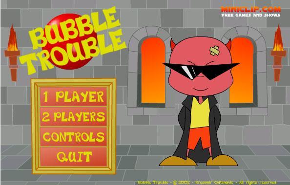 Bubble Trouble gt... Autors: surfix Forsas flash speles...