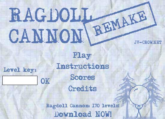 Ragdoll Cannon Remake gt... Autors: surfix Forsas flash speles...