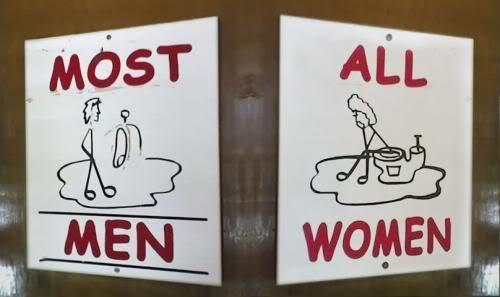 Autors: misters pingvīns Interesantas tualešu zīmes