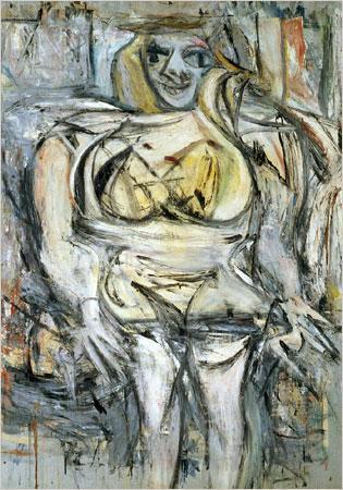 Nr 2 Woman III Autors Willem... Autors: Pūpols Top 10 dārgākās gleznas