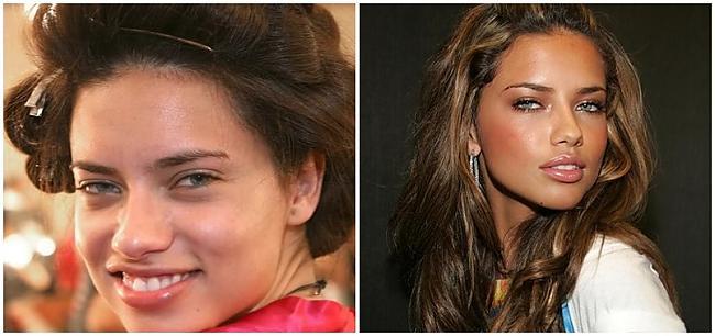 Adriana Lima topmodele Autors: SunnyTalesJ Ar un bez make-up