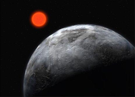 Gliese 581e ir viena no četrām... Autors: fischer Uz Gliese 581g varētu dzīvot?