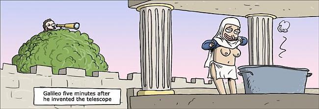 Galileo 5 minūtes pēc... Autors: tucs Karikatūras 2