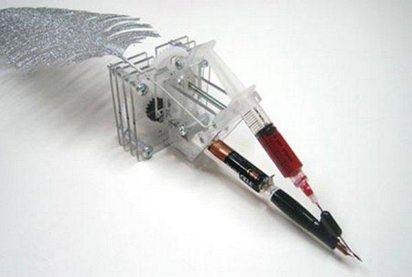 Asins krāsas pildspalva Autors: oXid Interesantie izgudrojumi