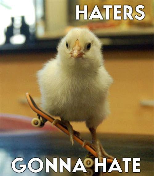 Autors: Krekerons Haters Gonna Hate