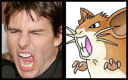 Tom Cruise  Raticate Autors: PEDOLĀCIS zvaigznes kas izskastās  ka pokemoni