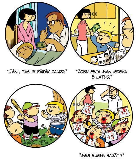 Autors: inficētais Komiksu izlase