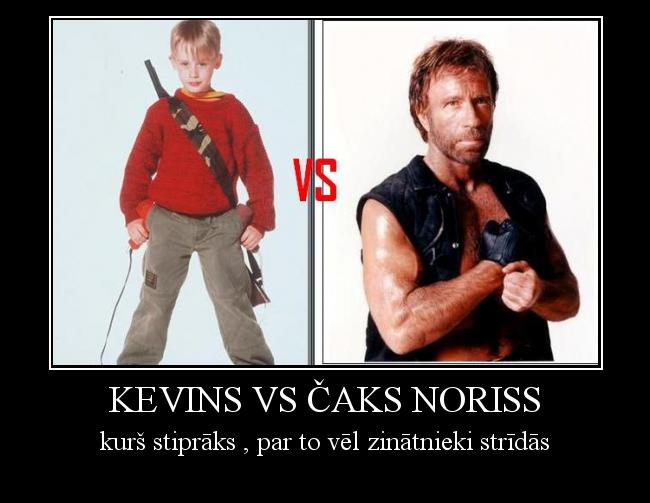 Autors: so sweet girl Kevins vs ČAks Noriss