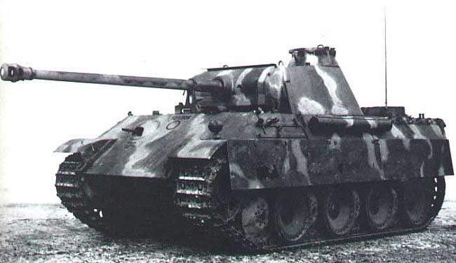 Vācu Panzer 5 Panthera... Autors: Bucitis1 2.P.K vācu un krievu tanku salīdzinājums (3.daļa)