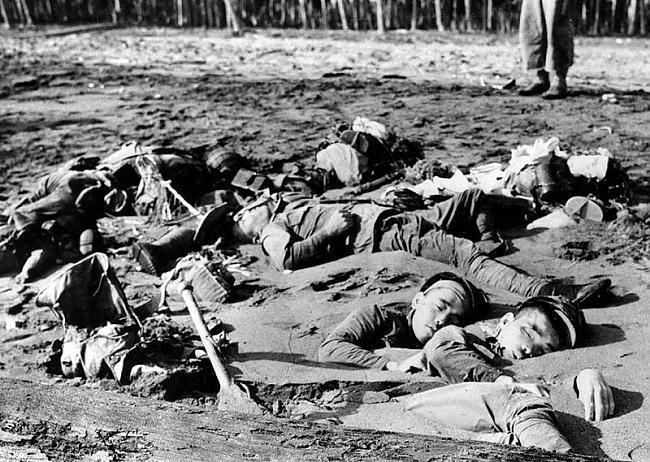 nbspNogalināti japāņu karavīri... Autors: Fosilija 2 pasaules karš fotogrāfijās