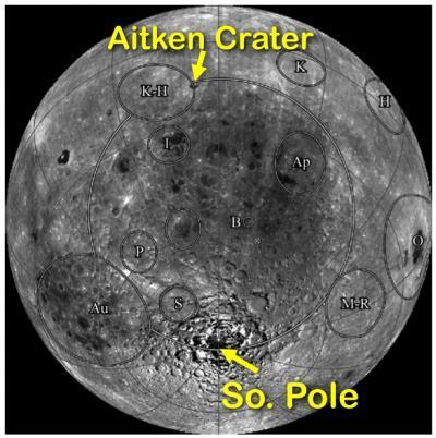 Mēness virsmu klāj krāteri jo... Autors: Plakanais Lielākais caurums Saules sistēmā.