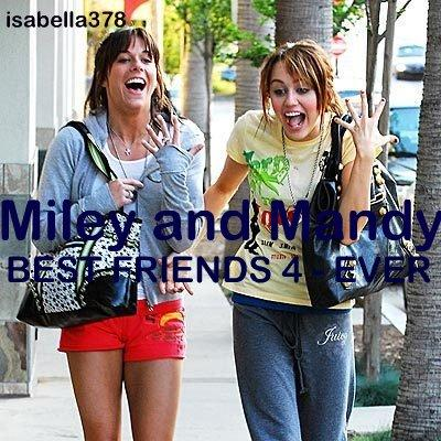 Autors: martak Miley&Mandy VS. Selena&Demi