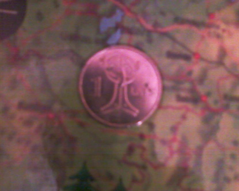 Pūces saktas monēta Autors: NUCKAL Mana LV 1latnieku kolekcija!!!