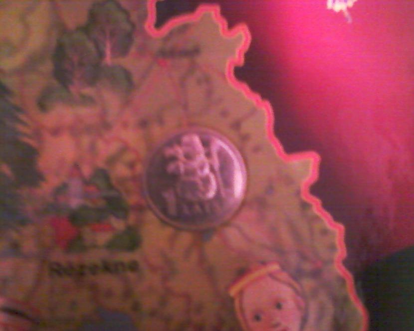 Sniegavīra monēta Autors: NUCKAL Mana LV 1latnieku kolekcija!!!