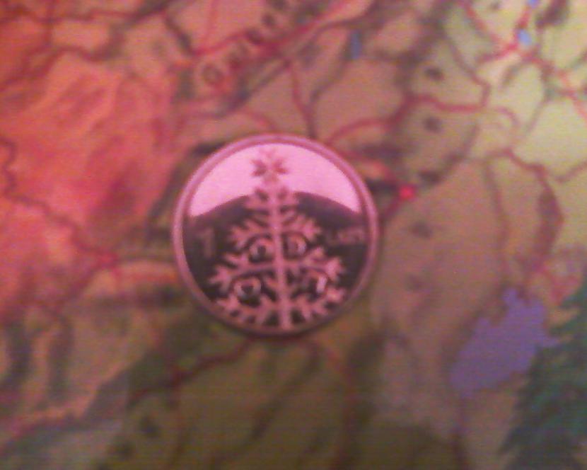 Eglītes monēta nessen ieguvu Autors: NUCKAL Mana LV 1latnieku kolekcija!!!