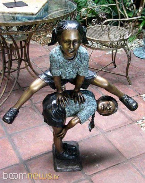Autors: Fosilija Interesantas statujas