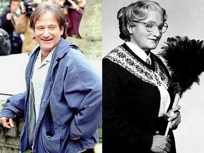 Robin Williams  Mrs Doubtfire Autors: Pucklers Slavenību transformācijas