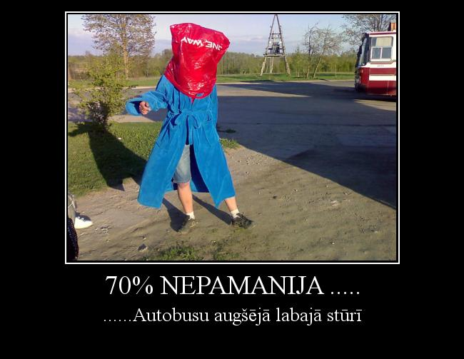 Autors: The wTTF 70% Nepamanija .....