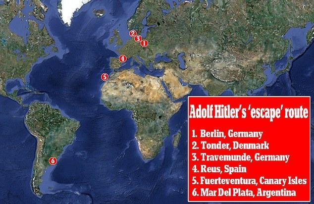 Abi pētnieki ir pārliecināti... Autors: afrobmw A. Hitlers tomēr neizdarija pašnāvību!?