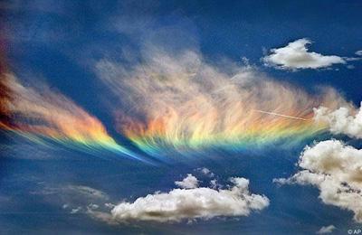 Liesmojoscaronā varavīksne... Autors: YogSothoth 10 neparastas dabas parādības