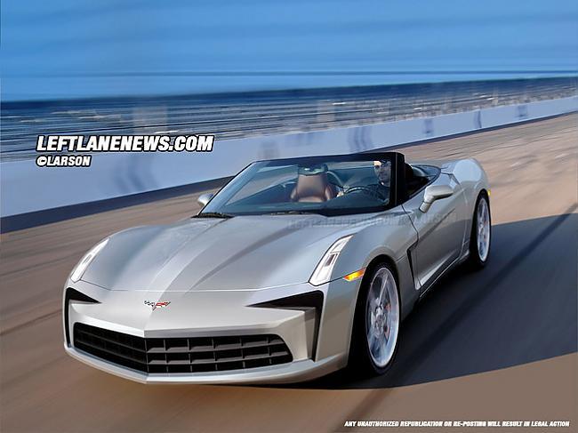 2011 Chevrolet Corvette C7 Autors: Plakanais Future cars