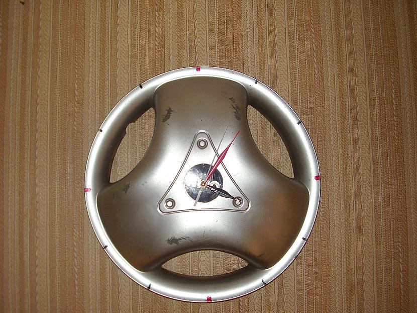 Un pulkstenis ir gatavs Autors: Milkijs8 Kā izveidot pulksteni no dekoratīvā diska.